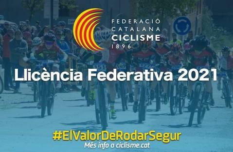 Llicències de la Federació Catalana de Ciclisme 2021